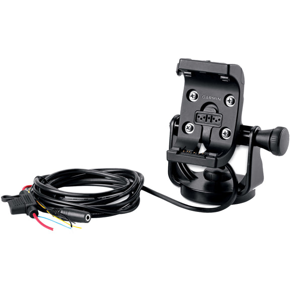 Garmin Marine Mount w/Power Cable & Screen Protectors f/Montana Series [010-11654-06] - Point Supplies Inc.