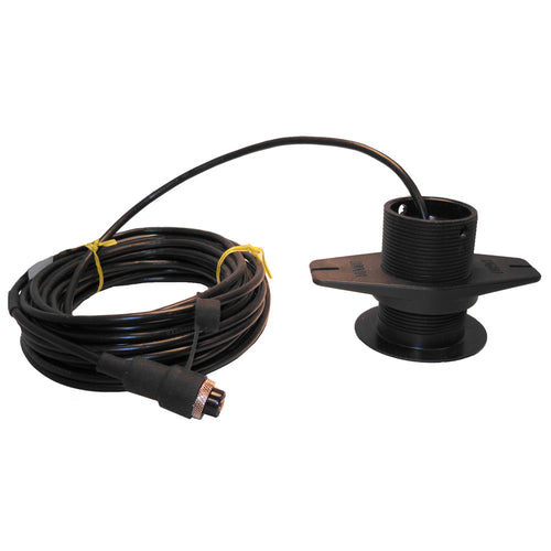 SI-TEX 120kHz Lexan Low-Profile Thru-Hull Transducer f-SDD-110 [408P-120] - point-supplies.myshopify.com