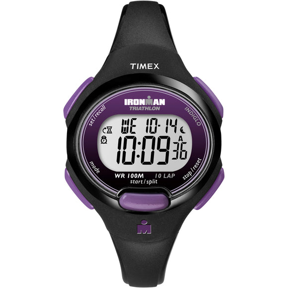 Timex IRONMAN 10-Lap Watch - Mid-Size - Purple/Black [T5K523JV] - Point Supplies Inc.
