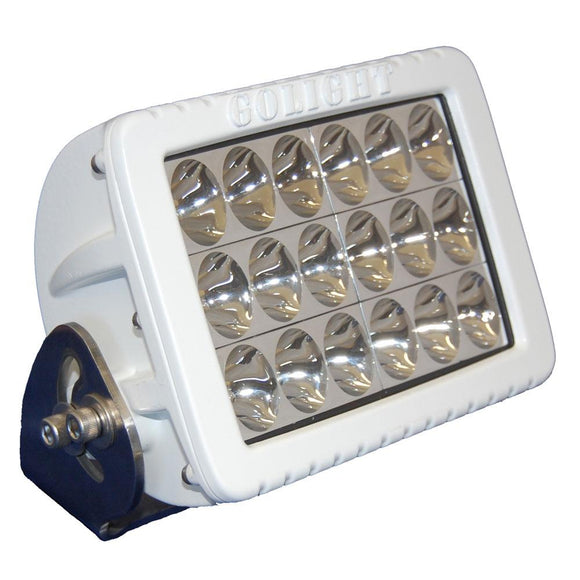 Golight GXL Fixed Mount LED Floodlight - White [4422] - Point Supplies Inc.