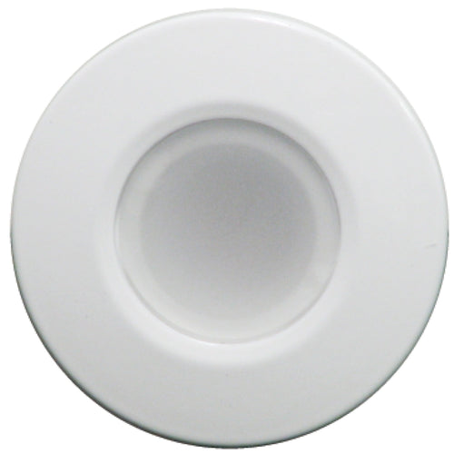 Lumitec Orbit - Flush Mount Down Light - White Finish - 4-Color Blue-Red-Purple-White Non Dimming [112520]-Lumitec-Point Supplies Inc.