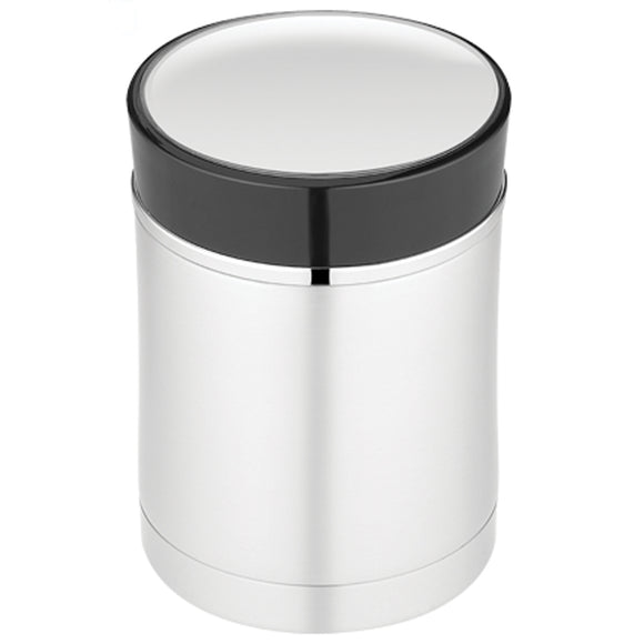 Thermos Sipp Vacuum Insulated Food Jar - 16 oz. - Stainless Steel/Black [NS340BK004] - Point Supplies Inc.