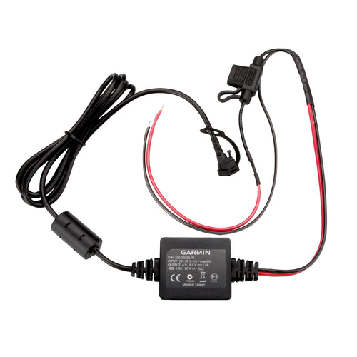 Garmin Motorcycle Power Cord f-zmo 350LM [010-11843-01] - point-supplies.myshopify.com