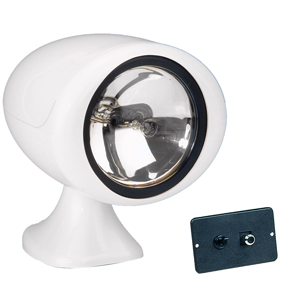 Jabsco 155SL Remote Control Halogen Searchlight - 12V [61050-0012] - point-supplies.myshopify.com