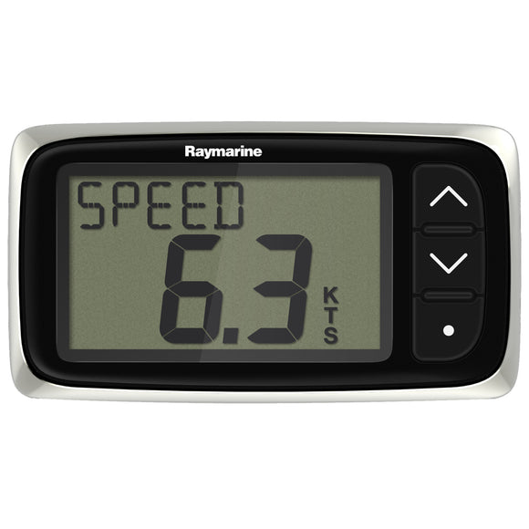 Raymarine i40 Speed Display System w/Transom Mount Transducer [E70141] - Point Supplies Inc.