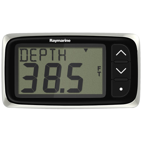 Raymarine i40 Depth Display System w-Thru-Hull Transducer [E70142] - point-supplies.myshopify.com