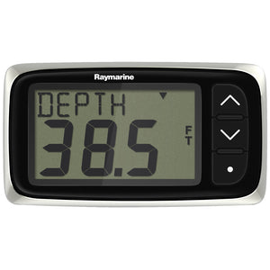 Raymarine i40 Depth Display System w-Transom Mount Transducer [E70143] - point-supplies.myshopify.com