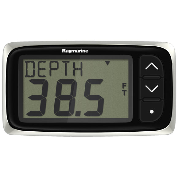 Raymarine i40 Depth Display System w/Transom Mount Transducer [E70143] - Point Supplies Inc.