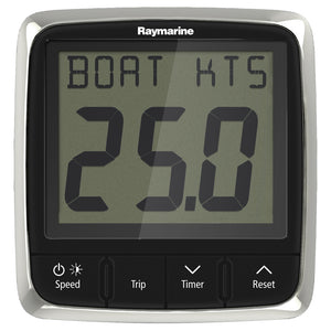 Raymarine i50 Speed Display System w-Nylon Thru-Hull Transducer [E70147]-Raymarine-Point Supplies Inc.