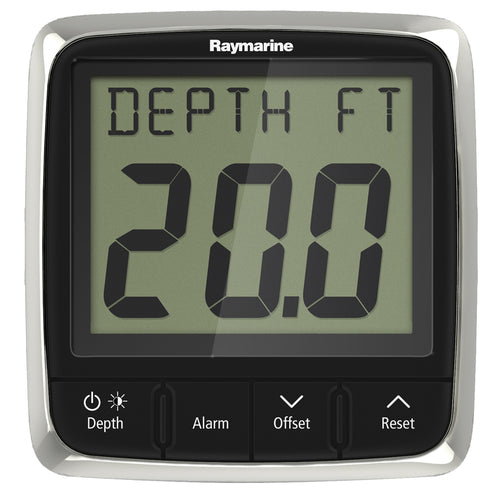 Raymarine i50 Depth Display System w-Thru-Hull Transducer [E70148] - point-supplies.myshopify.com
