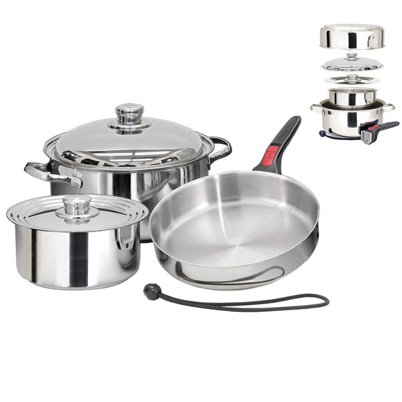Magma Nestable 7 Piece Induction Cookware [A10-362-IND] - Point Supplies Inc.