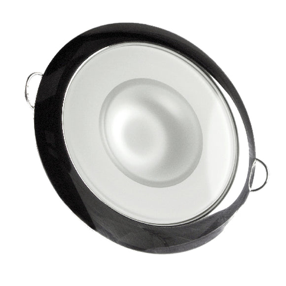 Lumitec Mirage - Flush Mount Down Light - Glass Finish/Polished SS Bezel - White Non-Dimming [113113] - Point Supplies Inc.