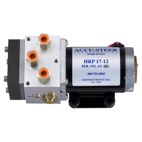 Accu-Steer HRP17-12 Hydraulic Reversing Pump Unit - 12 VDC [HRP17-12]-Accu-Steer-Point Supplies Inc.