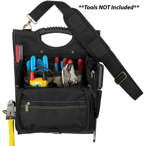 CLC 1509 21 Pocket Professional Electrician's Tool Pouch [1509] - Point Supplies Inc.