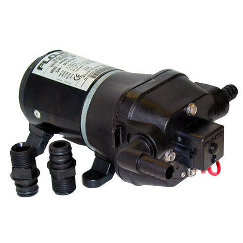 FloJet Quiet Quad Water System Pump - 12VDC [04406143A]-FloJet-Point Supplies Inc.