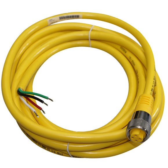 Maretron Mini Power Cordset - 2 Power & 2 Ground To Female - 5 Meter [NM4P-05] - Point Supplies Inc.