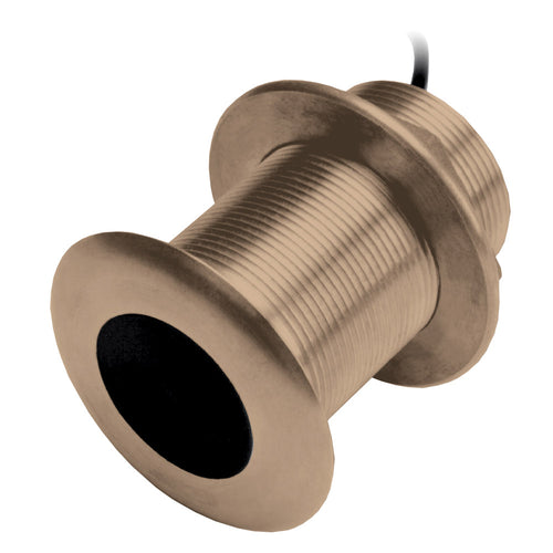 Garmin B75M Bronze 12 Degree Thru-Hull Transducer - 600W, 8-Pin [010-11636-21] - point-supplies.myshopify.com