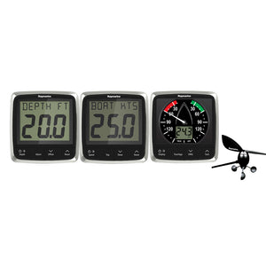 Raymarine i50/i60 Wind/Speed/Depth System Package [E70153] - Point Supplies Inc.