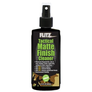 Flitz Tactical Matte Finish Cleaner - 7.6oz Spray [TM 81585] - Point Supplies Inc.