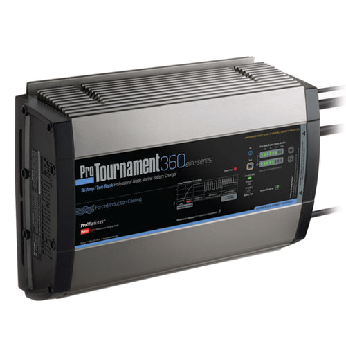 ProMariner ProTournament 360 elite Dual Charger - 36 Amp, 2 Bank [52032]-ProMariner-Point Supplies Inc.