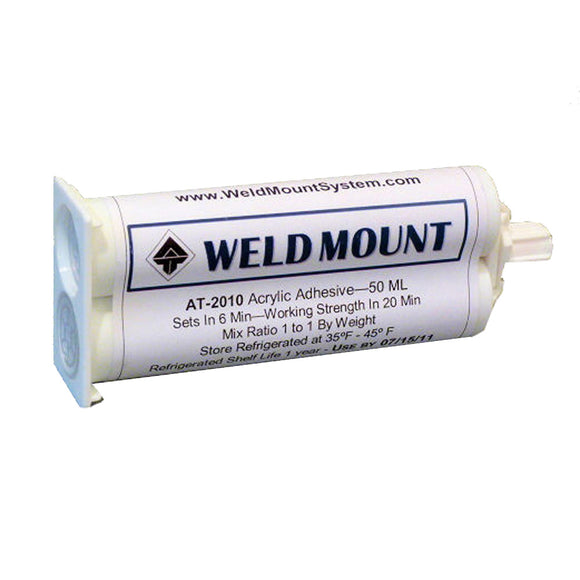 Weld Mount AT-2010 Acrylic Adhesive - 10-Pack [201010] - point-supplies.myshopify.com