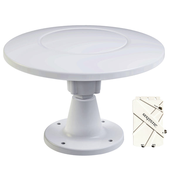 Majestic UFO X Ultra High Gain 30dB Digital TV Antenna - 12V [UFO X] - Point Supplies Inc.