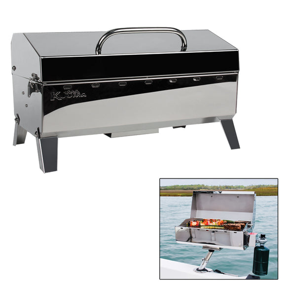 Kuuma Stow N' Go 160 Gas Grill - 13,000BTU w/Regulator [58130] - Point Supplies Inc.