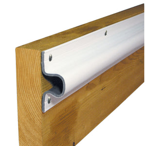 "Dock Edge ""C"" Guard PVC Dock Profile - (4) 6' Sections - White [1133-F] - Point Supplies Inc."