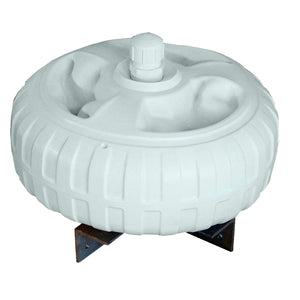 "Dock Edge Inflatable Dock Wheel - 18"" - White [95-077-F] - Point Supplies Inc."