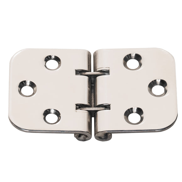 Whitecap Flush Mount 2-Pin Hinge - 304 Stainless Steel - 2-13-16 x 1-9-16 [S-3705] - point-supplies.myshopify.com