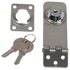 "Whitecap Locking Hasp - 304 Stainless Steel - 1"" x 3"" [S-4053C] - point-supplies.myshopify.com"