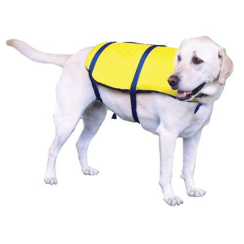 Onyx Nylon Pet Vest - X-Small - Yellow [157000-300-010-12]-Onyx Outdoor-Point Supplies Inc.