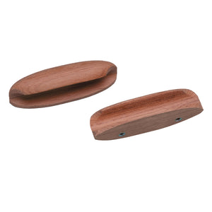 "Whitecap Teak Oval Drawer Pull - 4""L - 2 Pack [60147-A] - point-supplies.myshopify.com"