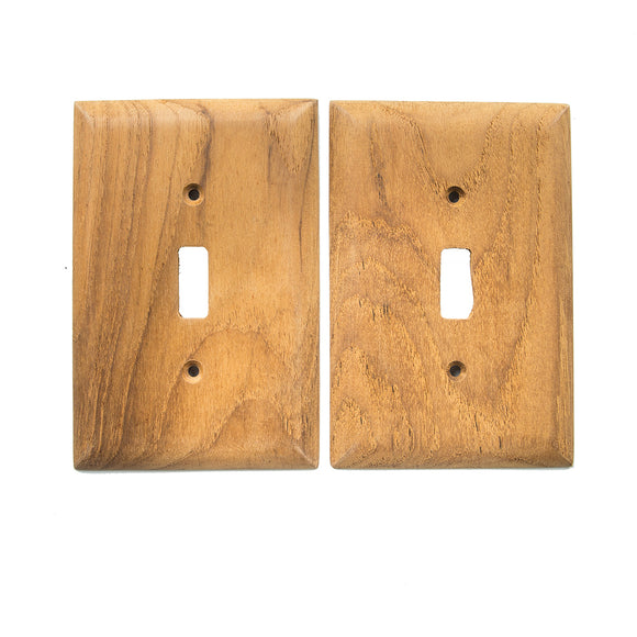 Whitecap Teak Switch Cover-Switch Plate - 2 Pack [60172] - point-supplies.myshopify.com