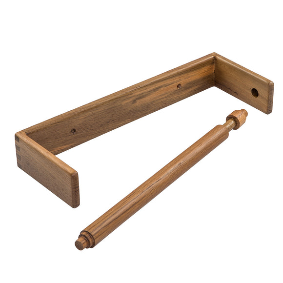 Whitecap Teak Wall-Mount Paper Towel Holder [62442] - point-supplies.myshopify.com
