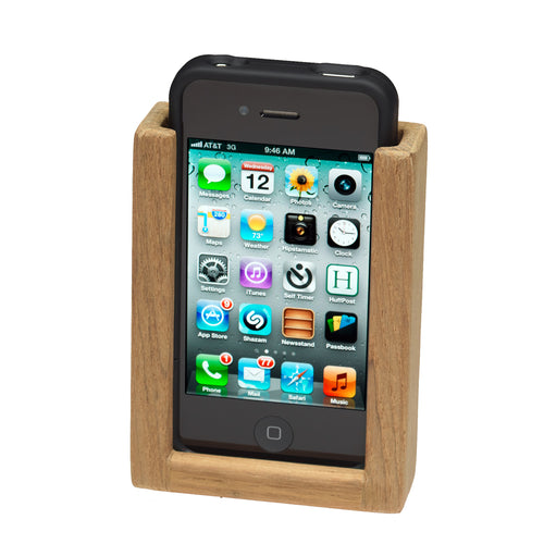 Whitecap Teak iPhone Rack [63272]-Whitecap-Point Supplies Inc.