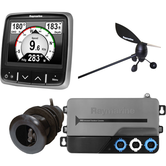 Raymarine i70s System Pack, Wind, Depth, Speed [T70226] - Point Supplies Inc.