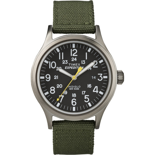 Timex Expedition Scout Metal Watch - Green-Black [T49961]-Timex-Point Supplies Inc.