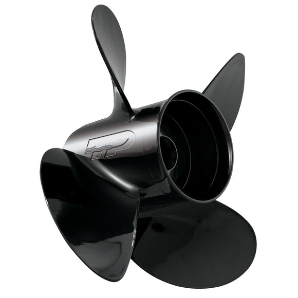 Turning Point LE1/LE2-1315-4 Hustler Aluminum - Right-Hand Propeller - 13.5 x 15 - 4-Blade [21431530] - Point Supplies Inc.