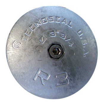 "Tecnoseal R3 Rudder Anode - Zinc - 3-3-4"" Diameter [R3]-Tecnoseal-Point Supplies Inc."