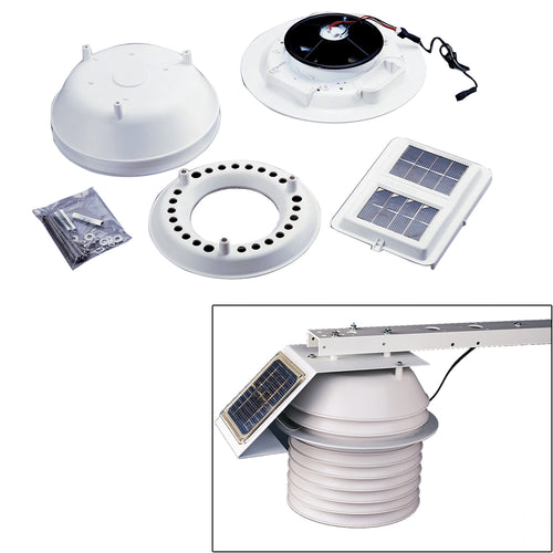 Davis Daytime Fan Aspirated Radiation Shield Kit [7747] - point-supplies.myshopify.com