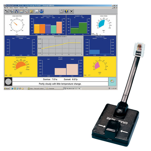 Davis WeatherLink Windows - Serial Port f-Vantage Vue & Pro2 Series [6510SER]-Davis Instruments-Point Supplies Inc.