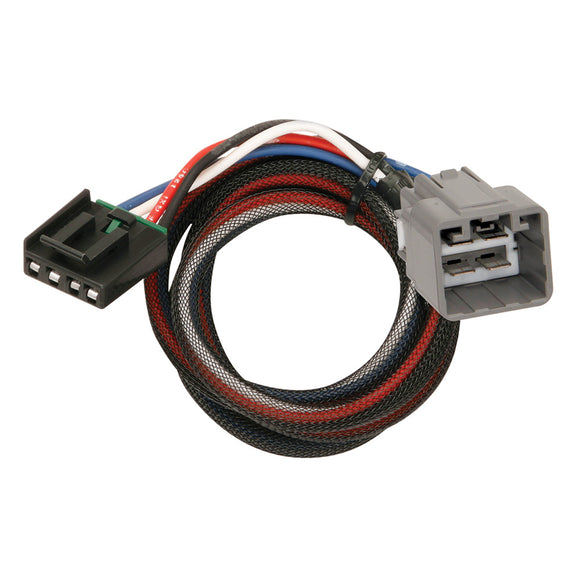 Tekonsha Brake Control Wiring Adapter - 2 Plug - fits Dodge, RAM, Jeep [3021-P] - Point Supplies Inc.