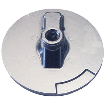Tecnoseal Trim Plate Anode - Zinc Flat Mercury Alpha f-Engines [00820]-Tecnoseal-Point Supplies Inc.