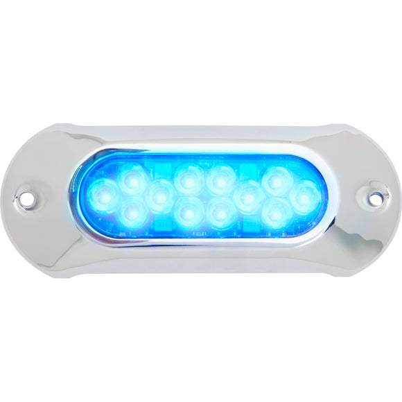 Attwood Light Armor Underwater LED Light - 12 LEDs - Blue [65UW12B-7] - Point Supplies Inc.