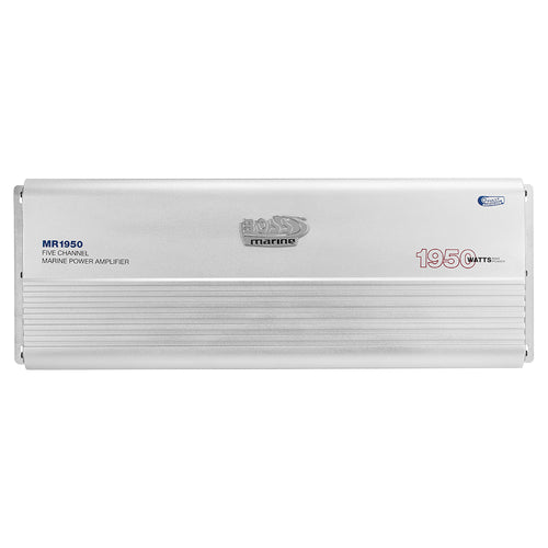 Boss Audio MR1950 Marine 5 Channel Full Range Class A-B Power Amplifier - 1950W [MR1950] - point-supplies.myshopify.com