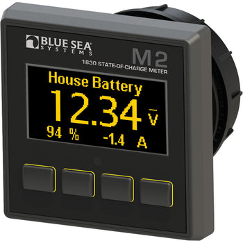 Blue Sea 1830 M2 DC SoC State of Charge Monitor [1830]-Blue Sea Systems-Point Supplies Inc.