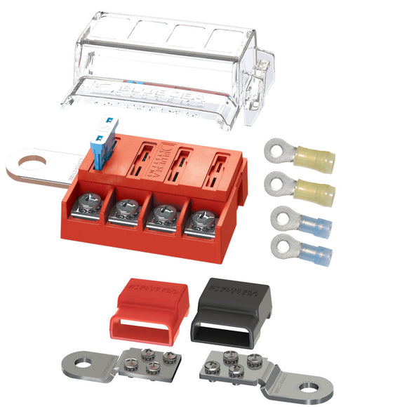 Blue Sea 5024 ST-Blade Battery Terminal Mount Fuse Block Kit [5024] - Point Supplies Inc.