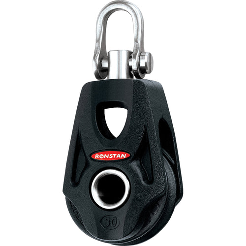Ronstan Series 30 Ball Bearing Orbit Block - Single - Becket - Swivel Shackle Head [RF35100]-Ronstan-Point Supplies Inc.