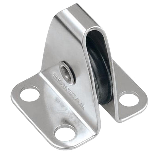 Ronstan Nylatron Sheave Box - Single Upright Lead Block [RF453]-Ronstan-Point Supplies Inc.